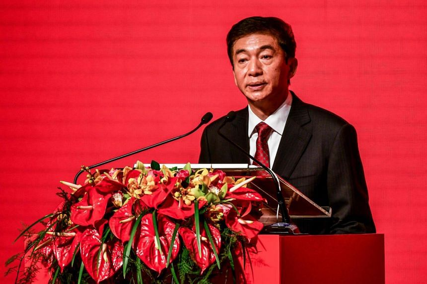 Luo Huining, China's new top official in Hong Kong, cited the neighbouring former colony of Macau and its adoption of a strict national security law as a model.
