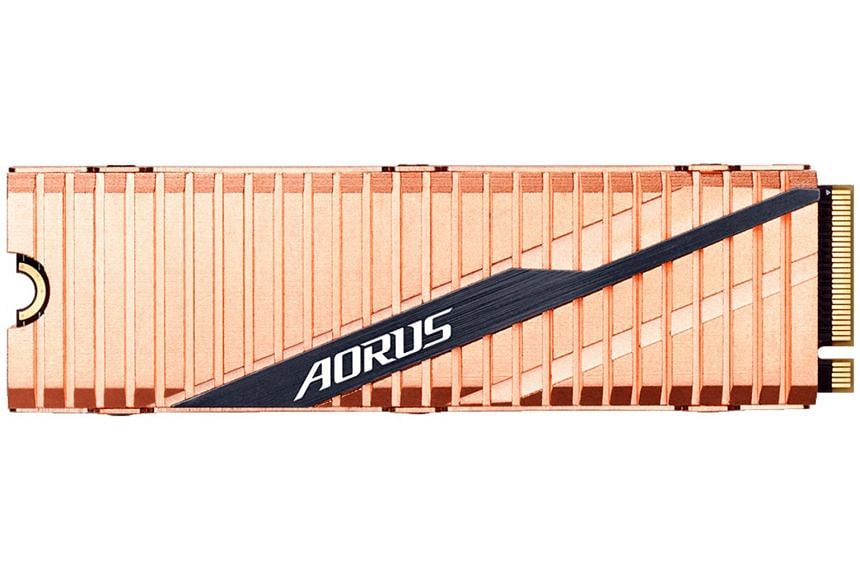 The Aorus touts a sequential read speed of up to 5,000MB/s and a sequential write speed of up to 4,400MB/s.