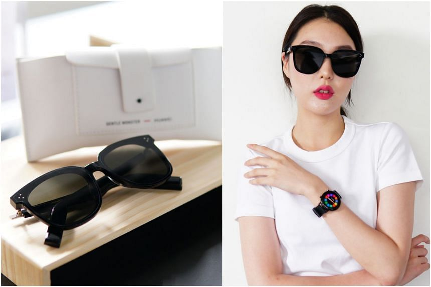 The Huawei x Gentle Monster Eyewear connects to your smartphone via Bluetooth to stream music, lets you answer calls and even call up the voice assistant of your smartphone.