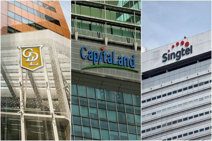 City Developments came in 36th in this year's list of the world's 100 most sustainable big corporations, while Capitaland and Singtel took 63rd and 95th place respectively.