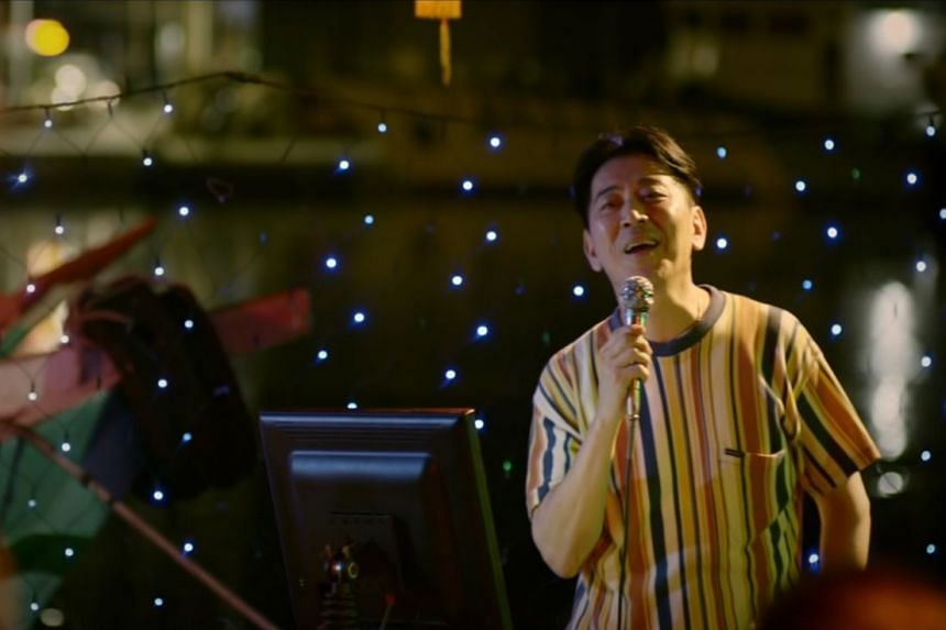 Screen grab of Taiwanese band Eggplantegg's music video for their 2019 song Waves Wandering, which stars actor Jack Kao.