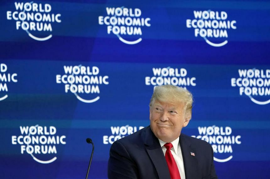 US President Donald Trump told a packed auditorium that recent trade deals with China and Mexico represented a model for the 21st century.