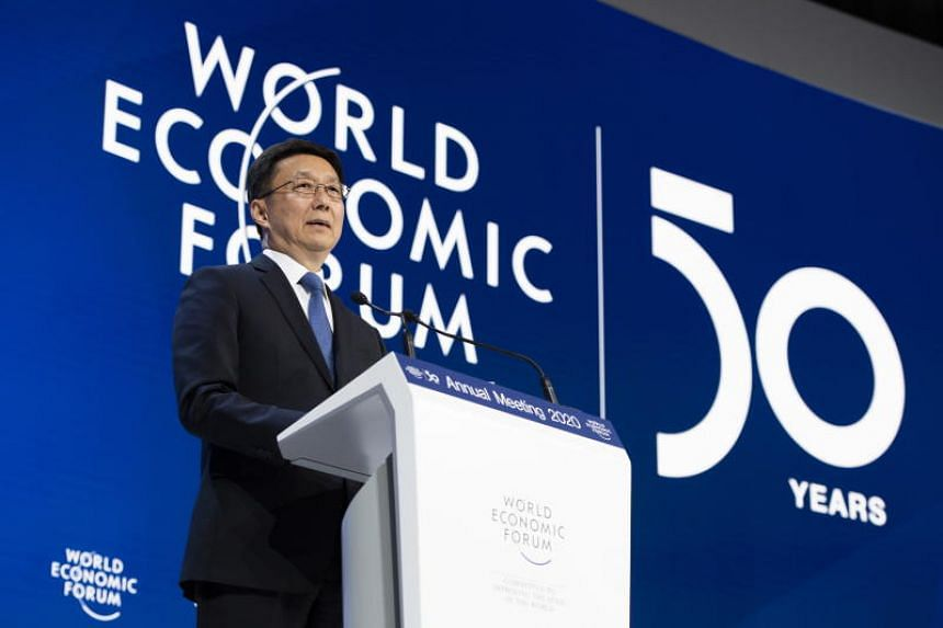 Chinese Vice-Premier Han Zheng said that China will not move away from globalisation.