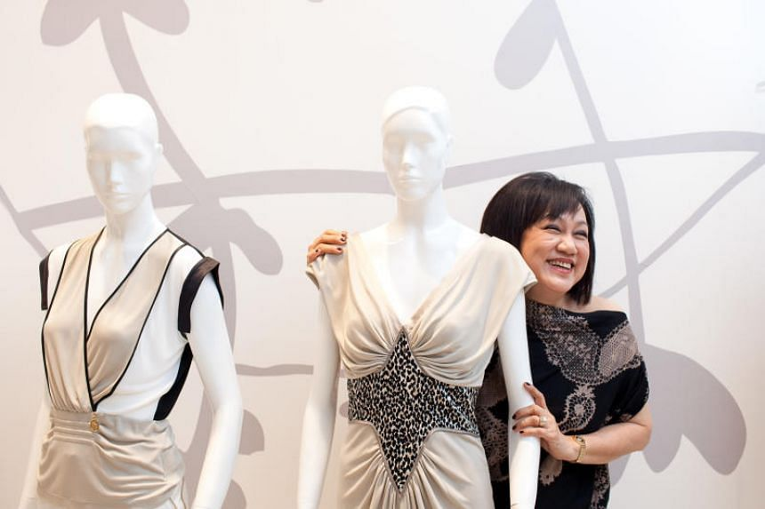Mrs Tan Beng Yan is regarded as a veteran in the fashion scene here.
