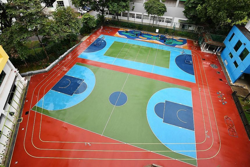 Pupils at play at Clementi Primary School. The Ministry of Education will look at dropping selection trials for co-curricular activities by starting a pilot study with several primary schools. Many feel that this is an encouraging move as it allows c