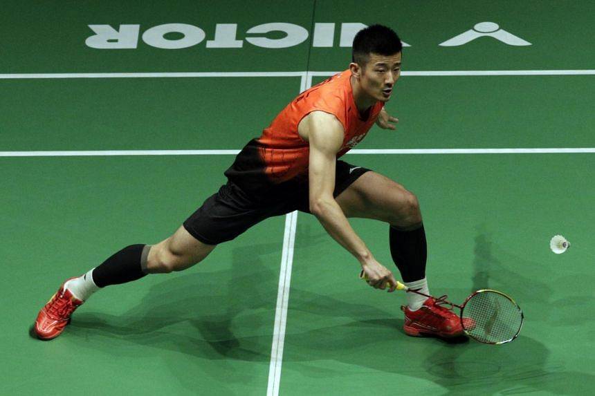 Olympic champion Chen Long headlines a list of 42 China shuttlers who are bound for the April 7-12 Singapore Badminton Open.