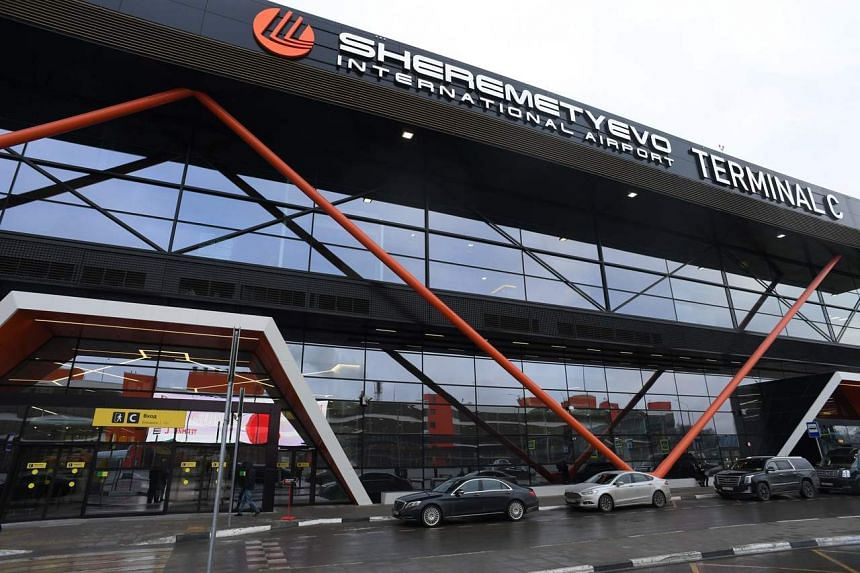 Terminal C at Moscow's Sheremetyevo airport on Jan 17, 2020.