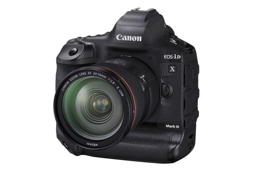 Canon EOS 1D X Mark III: DSLR CAMERA.