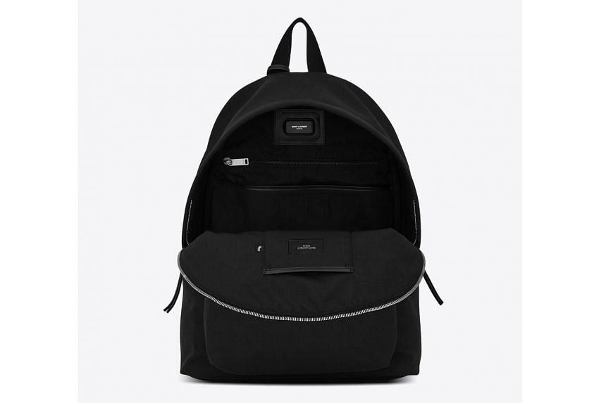 Saint Laurent Cit-e Backpack: SMART BACKPACK.