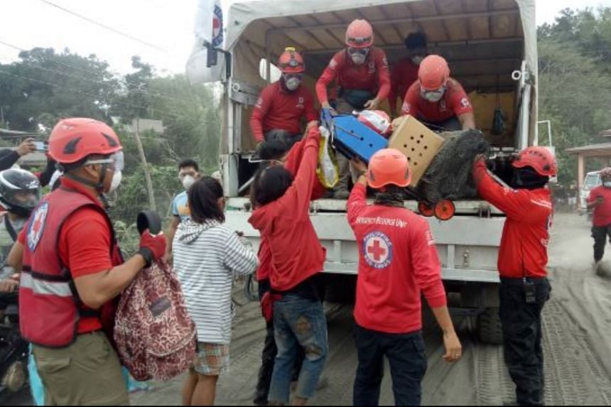 The Philippine Red Cross has mobilised more than 850 personnel on the ground.