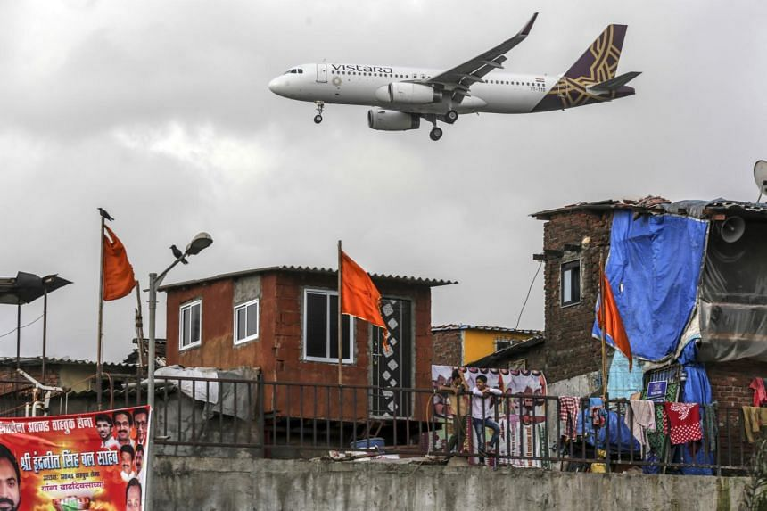 A Vistara aircraft preparing to land at Chhatrapati Shivaji International Airport in Mumbai in a July 2017 file photo. Vistara, SIA's Indian joint venture is considering ordering more 787 Dreamliner jets  from Boeing to add flights to destinations as