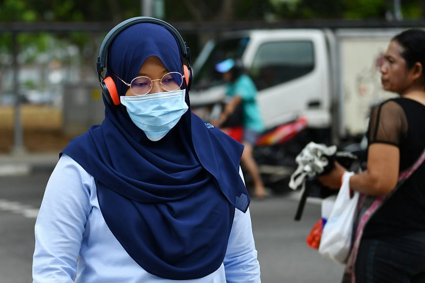 Surgical masks can help reduce the spread of the virus and are more practical for the general public to use.