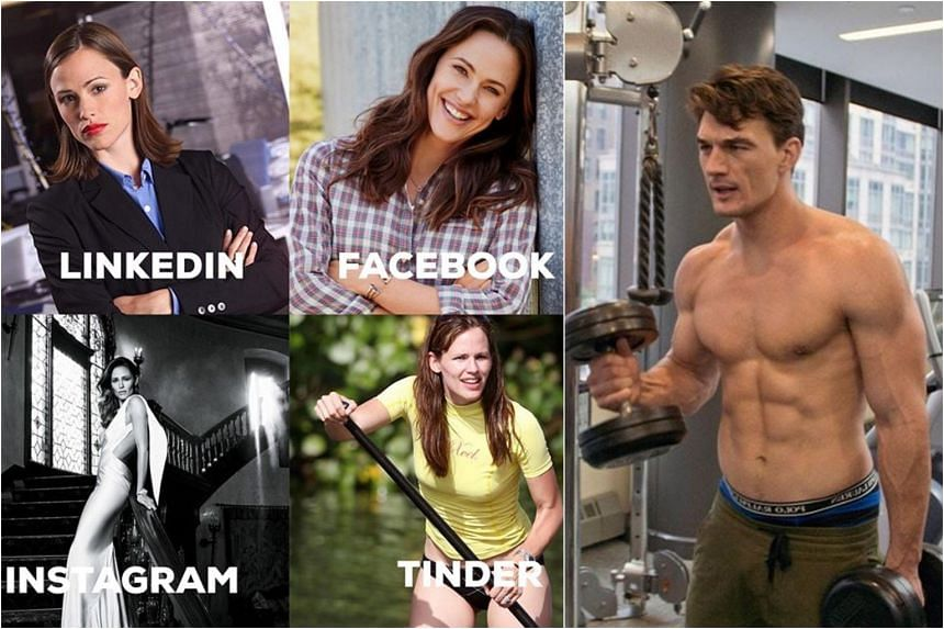 American actress Jennifer Garner (left) shared on Instagram a collage of photos which she used on different social media platforms, which Bachelorette star Tyler Cameron (right) commented on.