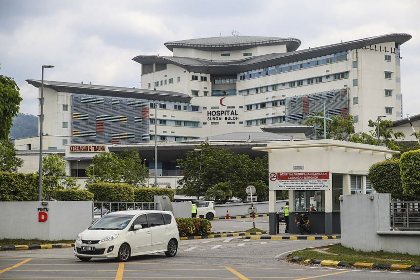 The Sungai Buloh Hospital where three Chinese citizens have been placed in isolation and are being closely monitored after testing positive for coronavirus, on Jan 25, 2020.
