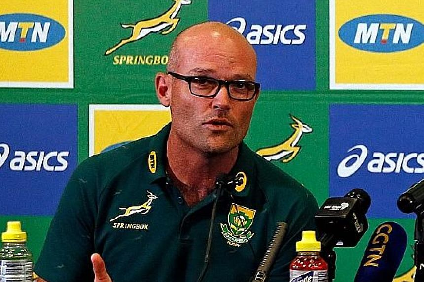 New Springboks coach Jacques Nienaber was the defence coach when they won their third World Cup last year.