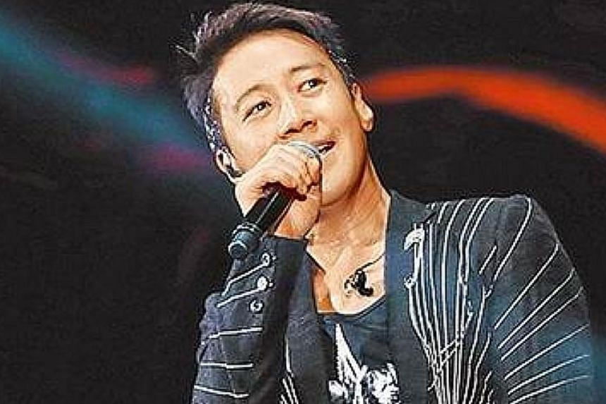Heavenly King Andy Lau (left) has cancelled all his 12 concerts in Hong Kong, while fellow Hong Kong Heavenly King Leon Lai (above) has postponed his two shows in Macau.