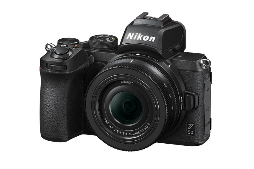 Nikon Z50 mirrorless camera.