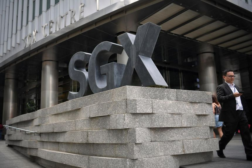 The Singapore Exchange Centre in Shenton Way.