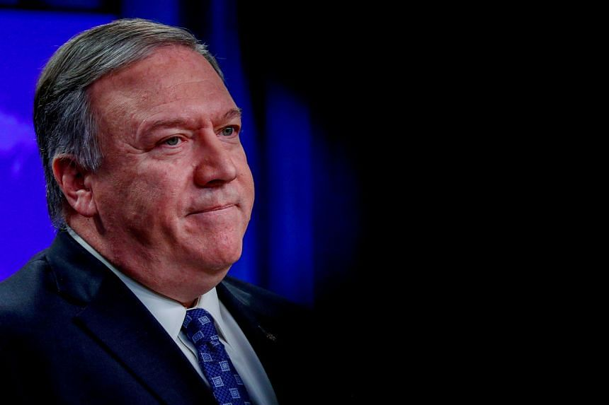 Secretary of State Mike Pompeo (above) was interviewed by another NPR reporter, Mary Louise Kelly.
