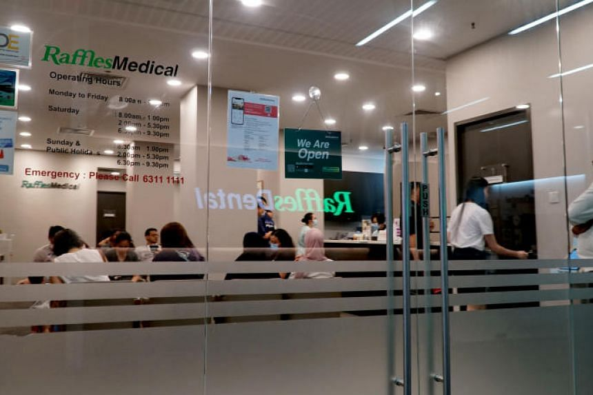 Messages circulating on various social media platforms had claimed that the suspected case was detected at a Raffles Medical Group clinic at Causeway Point.
