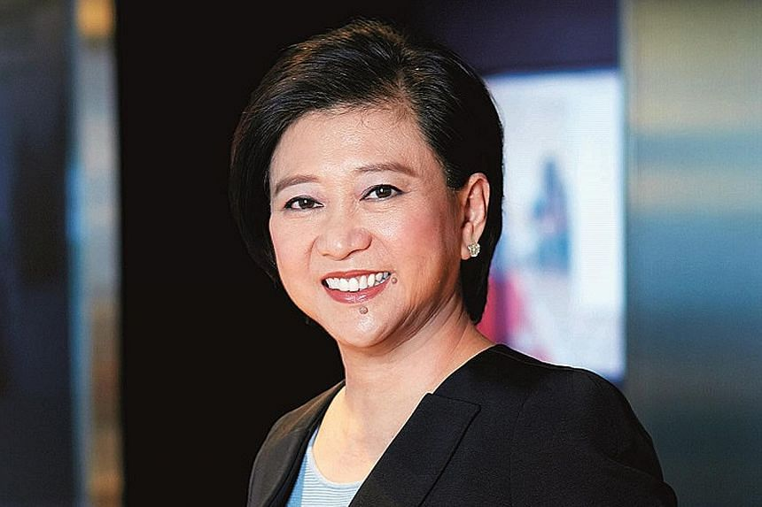 Ms Chua Sock Koong is the group chief executive officer of Singtel.