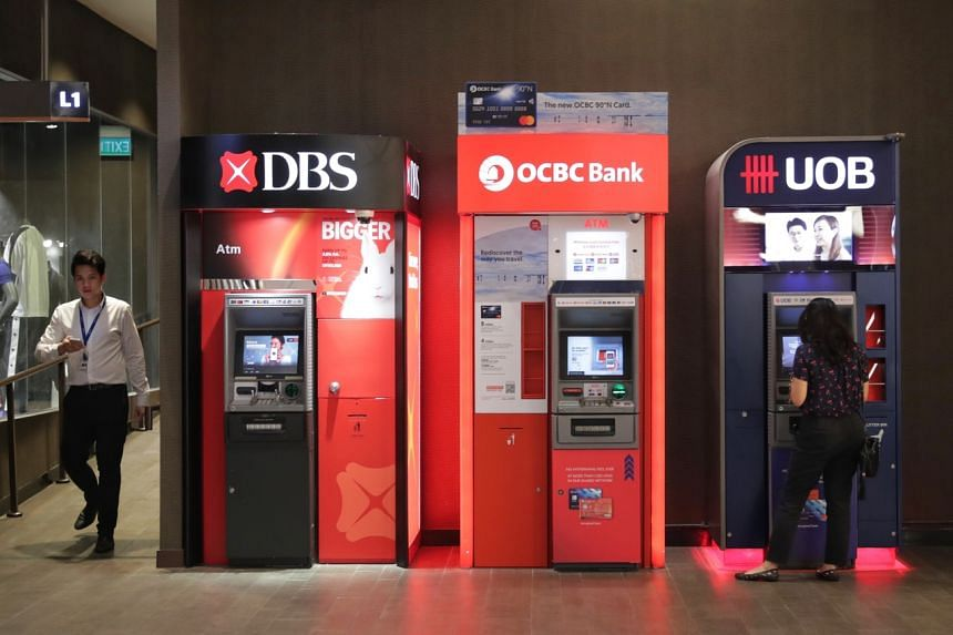 The three Singapore banks - DBS Bank, UOB and OCBC Bank - have the highest credit ratings in Asean.