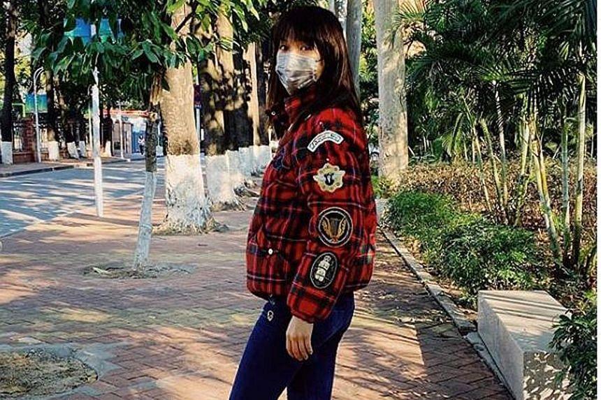 Joanne Peh's husband Qi Yuwu will head back to Singapore while she stays in Guangzhou.