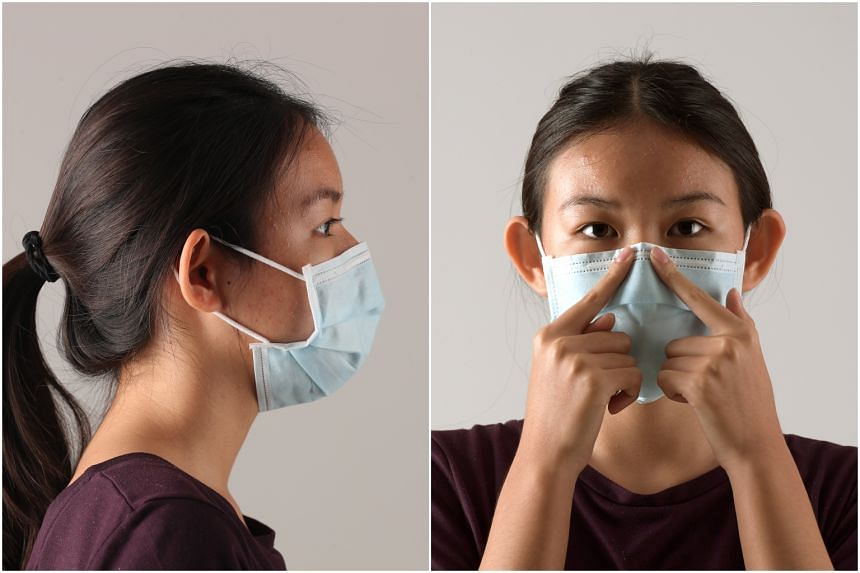 Face masks are designed to prevent the passing of a virus from the wearer to other people, not the other way around.
