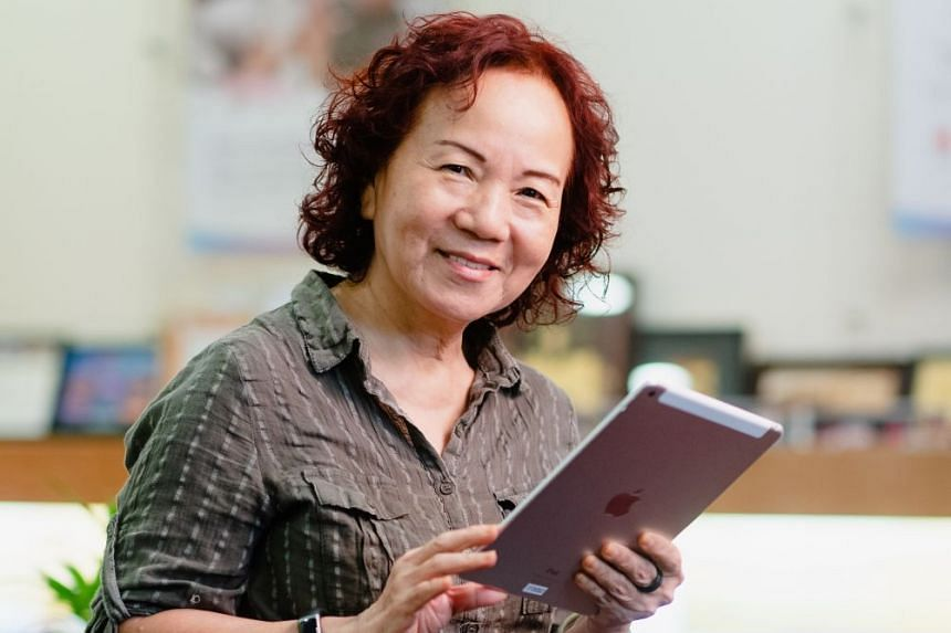 Ms Yap has acquired and applied many new skills to her daily life after attending multiple digital courses offered by the National Silver Academy.