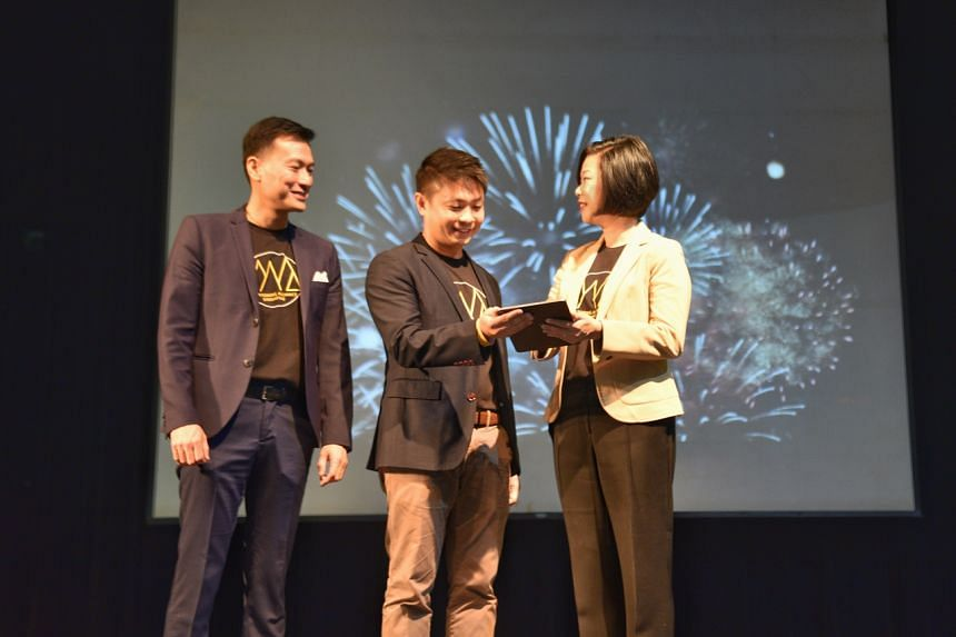 (From left) Mentoring Alliance Singapore chairman Glenn Lim, Mentoring Alliance Singapore Steering Committee member Kelvin Kong and Senior Minister of State, Ministry of Communications and Information & Ministry of Culture, Community and Youth Sim An