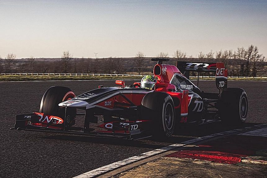 Get an F1 car for $2.7m