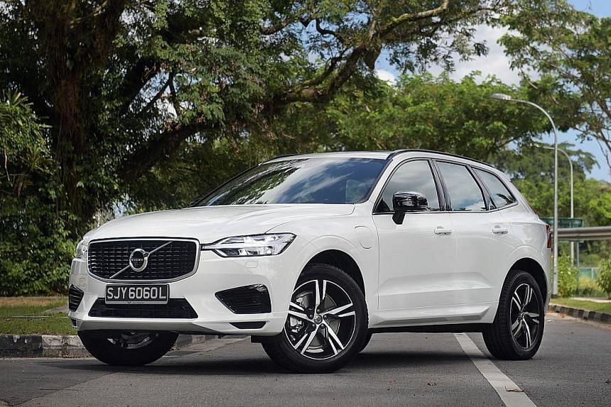 Volvo's new XC60 T8 Plug-In Hybrid is spacious and comfortable. Charging its lithium-ion battery pack by an external electrical source increases its efficiency.