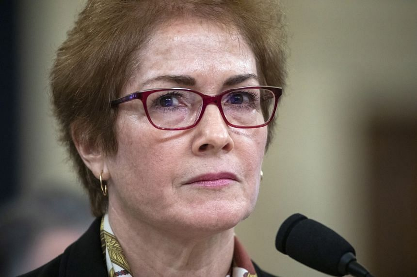Ms Marie Yovanovitch had been expected to leave the Foreign Service after she was ordered back to Washington from Kiev, Ukraine.