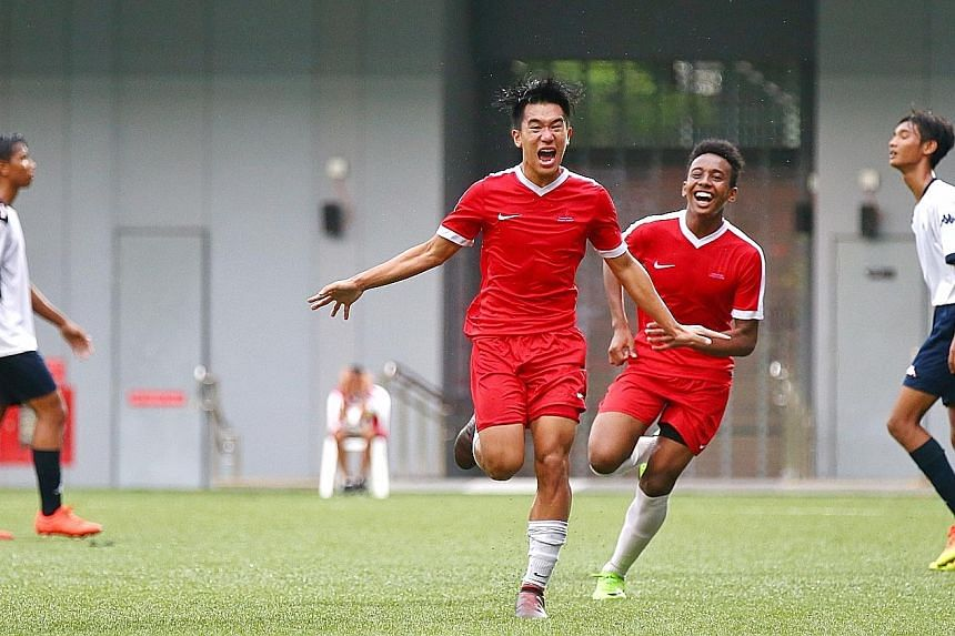 The Singapore Sports School won the 2018 B Division football title, their last of eight championships since 2007.