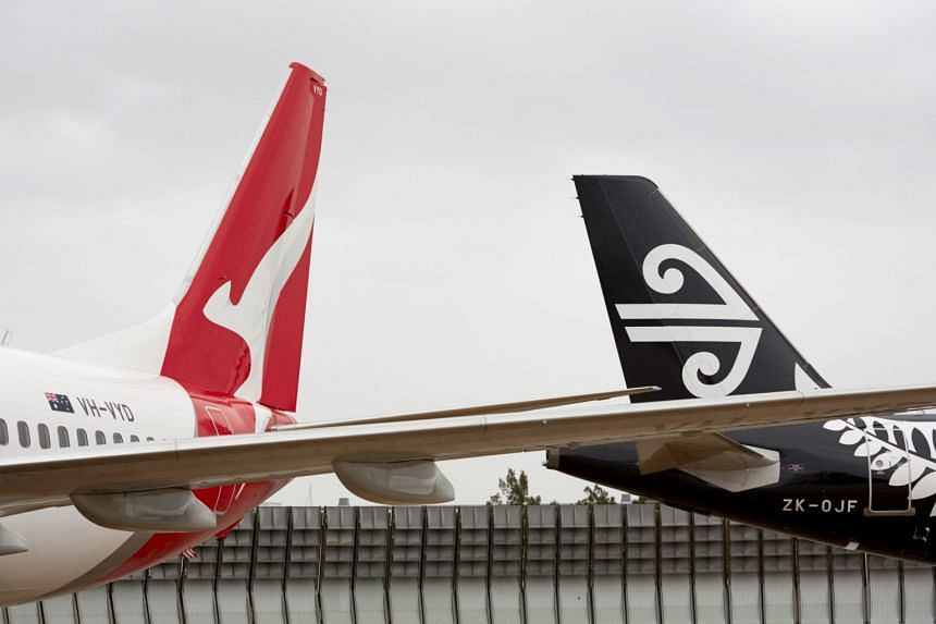 Qantas Airways is suspending direct flights to mainland China, while Air New Zealand is suspending its Auckland-Shanghai service from Feb 9 to March 29.