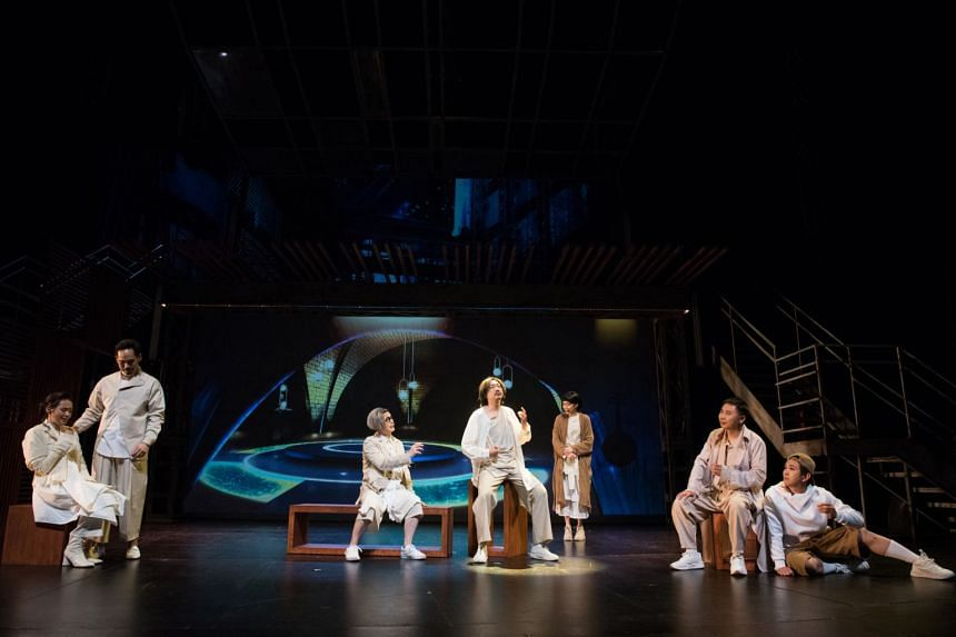 7 Sages Of The Bamboo Grove, directed by Goh Boon Teck, draws inspiration from Chinese history.