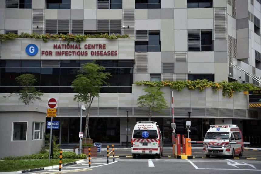 A view of the National Centre for Infectious Diseases on Feb 2, 2020.
