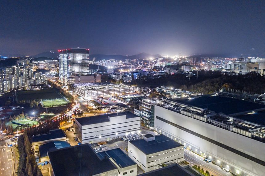 Electronics 'Nano city Hwasung Campus' semiconductor factory in South Korea on Nov 19 2019
