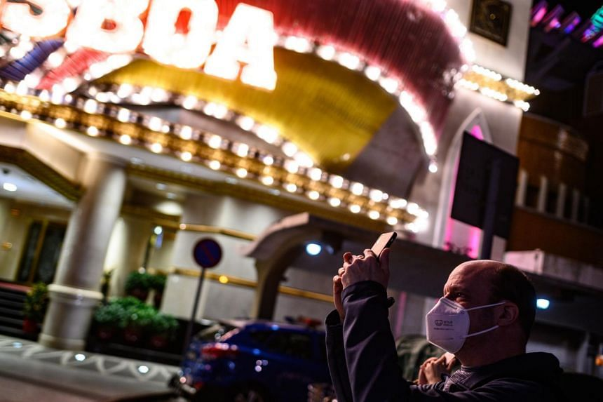 Macau had confirmed seven cases of the virus as of last Saturday, and the number of visitors to the world's largest casino hub plunged nearly 80 per cent in the past week.