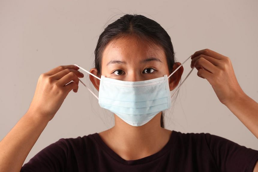mouth breath protection mask against viruses