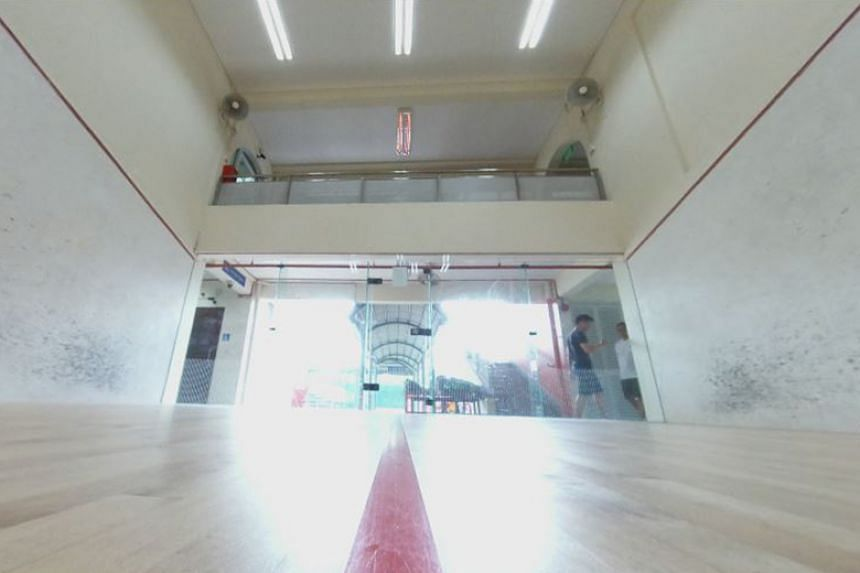 The Kallang Squash Centre is expected to be torn down by next year to make way for the Kallang Alive project.