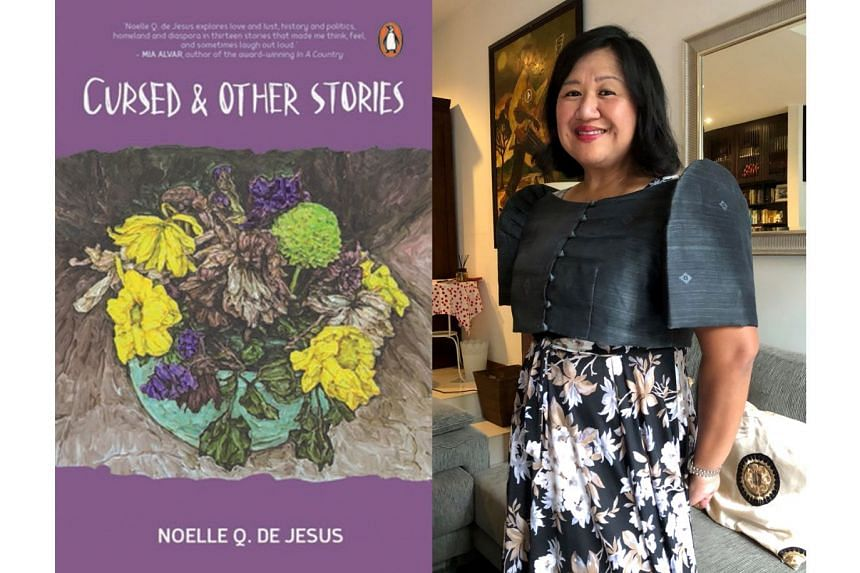 Author Noelle Q. De Jesus' second collection of short stories, Cursed, deals with dissatisfied women, dysfunctional relationships and the Filipino identity.