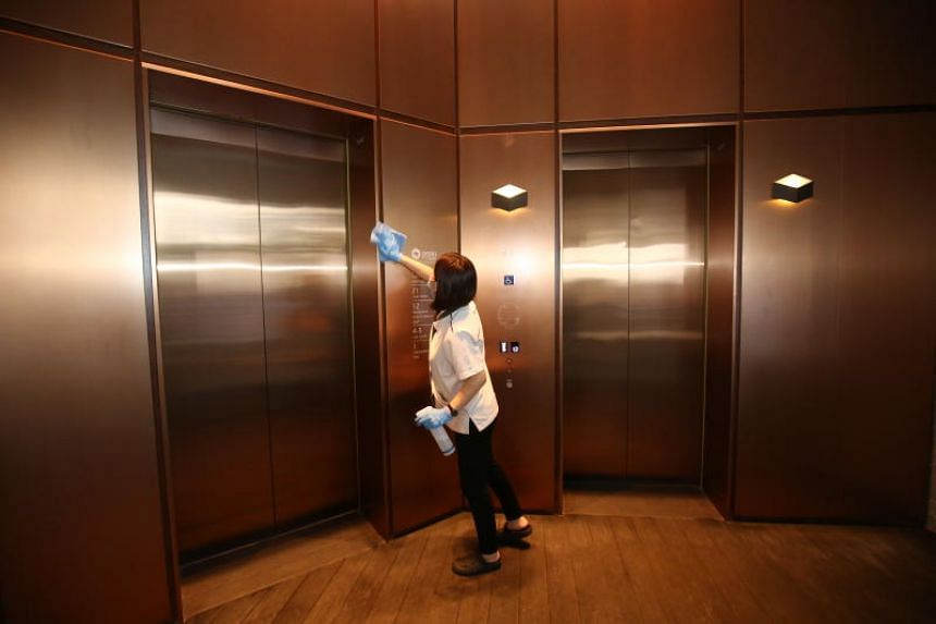 Enhanced cleaning of premises is part of the new guidelines issued by the Ministry of Trade and Industry, Ministry of Manpower, NTUC and the Singapore National Employers Federation.