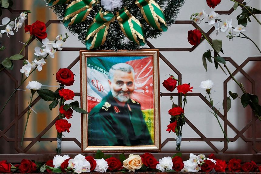 Qassem Soleimani (above), killed by a US drone strike, is said to have been carrying a message setting out Iran's position on possible rapprochement with Saudi Arabia.