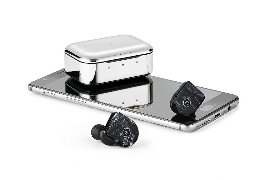 Master & Dynamic's MW07 Plus comes with a stainless steel charging case.