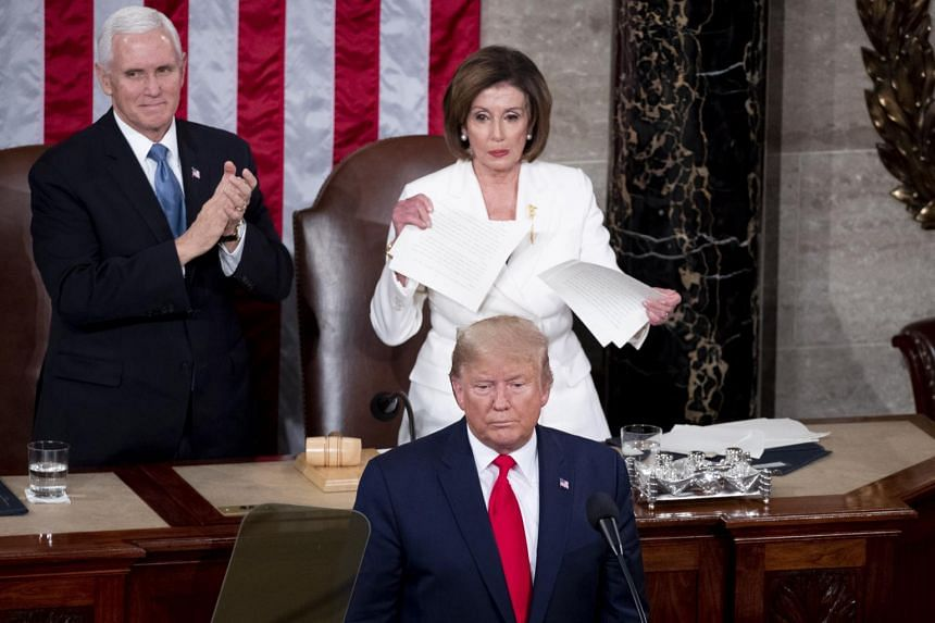 Trump and Pelosi exchange snubs