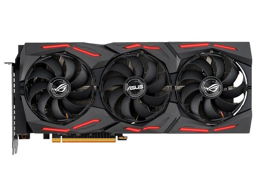 Asus ROG Strix Radeon RX 5600 XT.