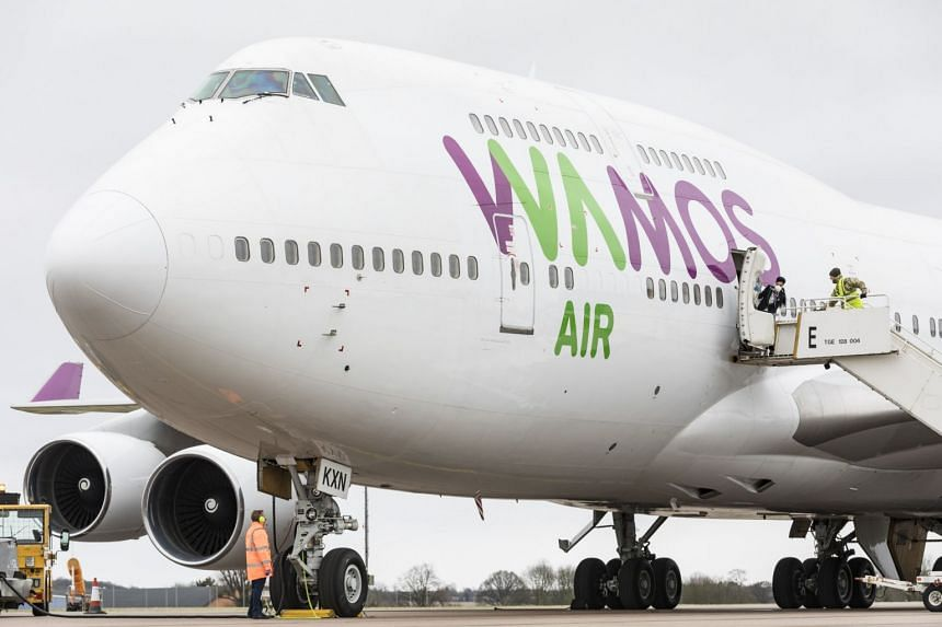 Some 83 British citizens returned on a UK government-chartered flight from Wuhan to Brize Norton on Jan 31, 2020.