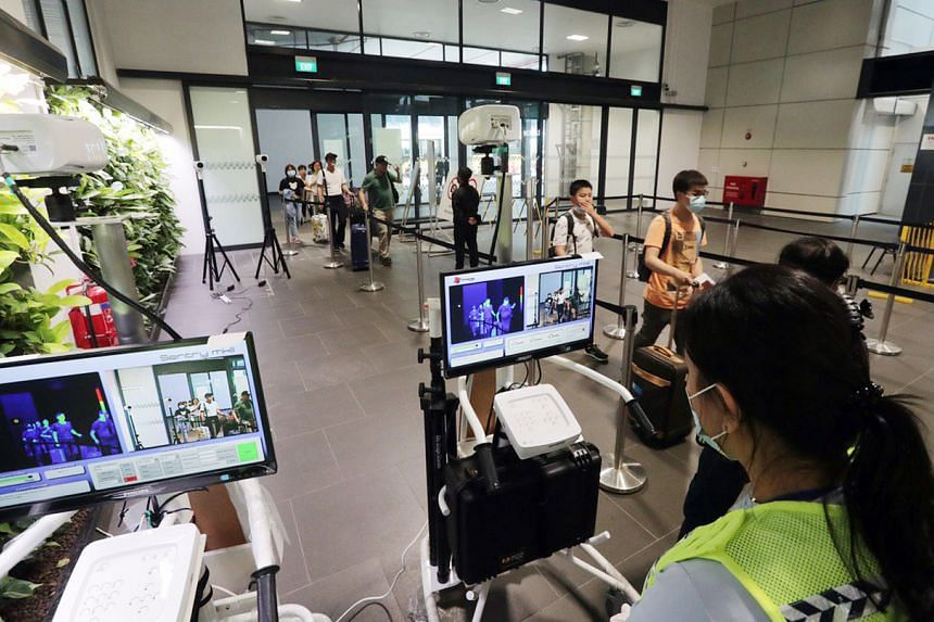 Even though Singapore is at Yellow alert, some of the measures implemented, such as quarantine and temperature screening, are actually Orange measures.