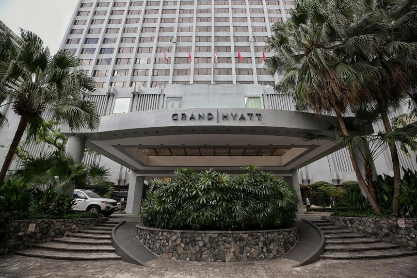 A spokesman for the Grand Hyatt said the hotel had been deep cleaned after it was first informed of the incident by the health ministry on Tuesday.